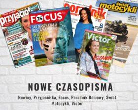 Zapraszamy po nowe, majowe czasopisma.