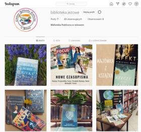 Biblioteka na Instagramie